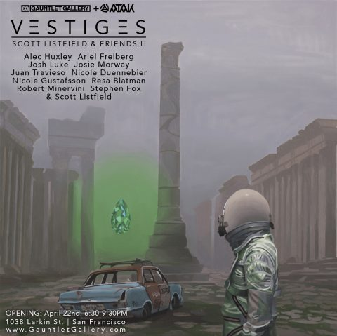 Vestiges Show Flyer
