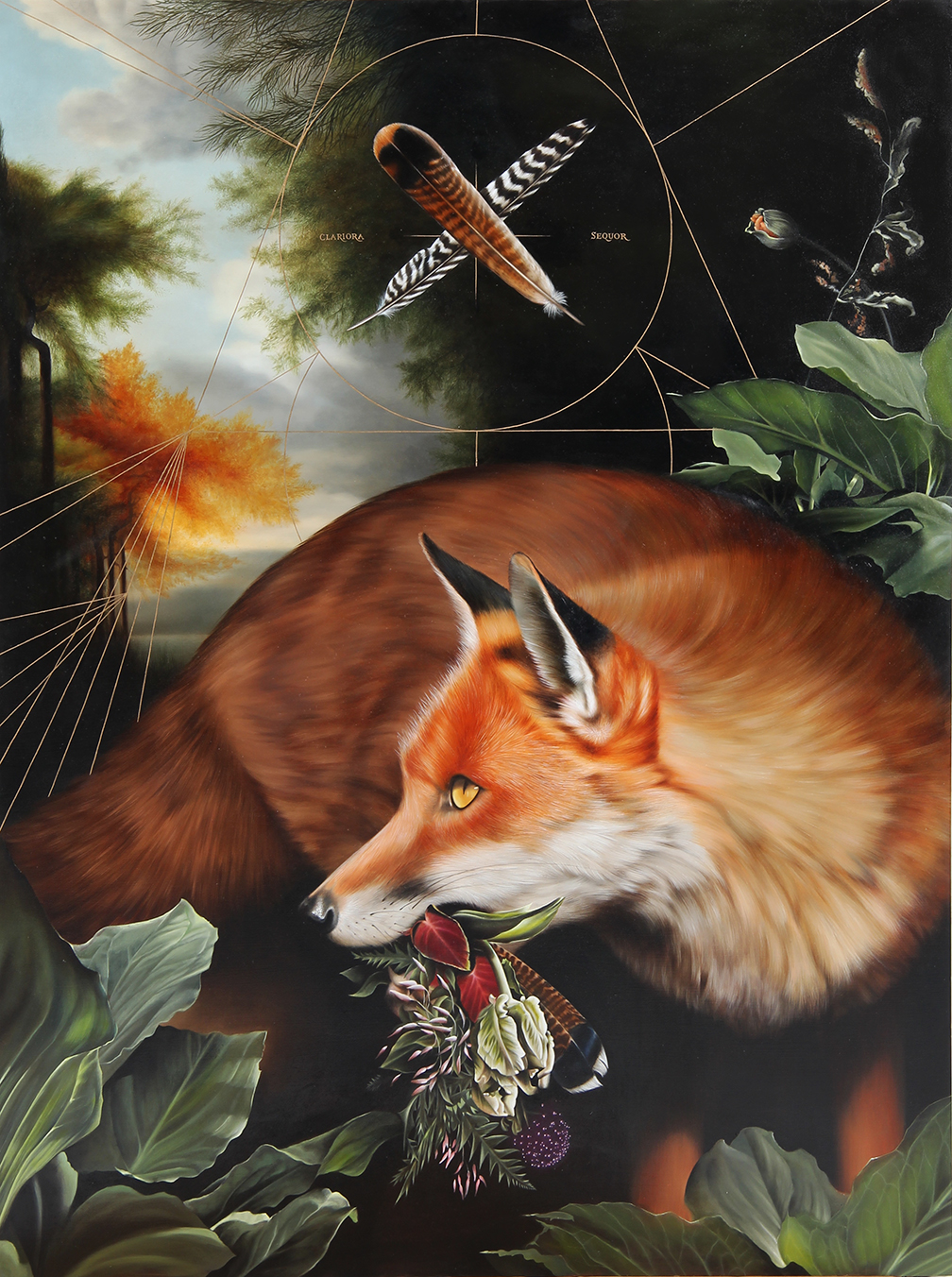 Limited edition fox print